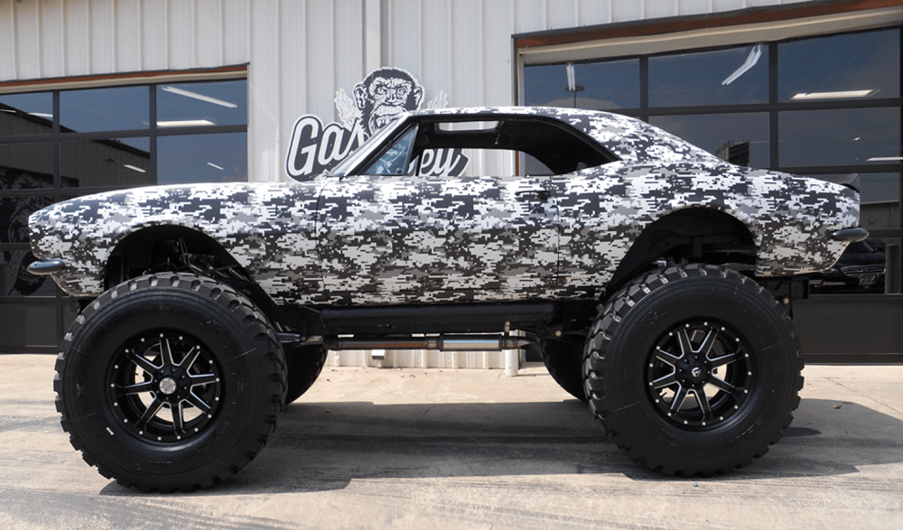 Gas Monkey's '67 Camaro Monster Truck Brings Monster Bucks ...