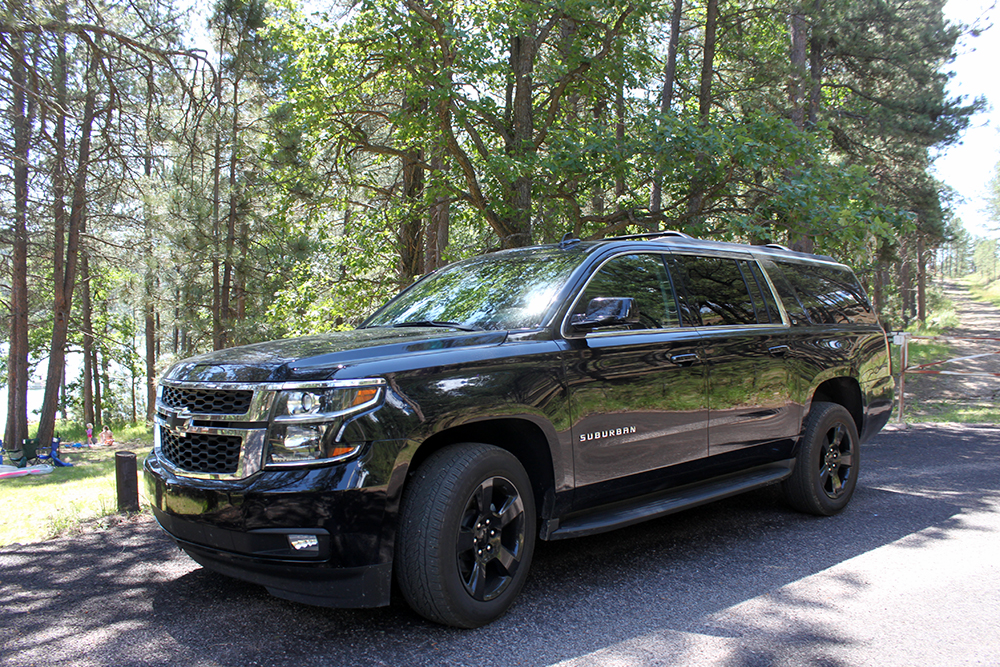 Camping with the 2017 Chevrolet Suburban Midnight Edition ...