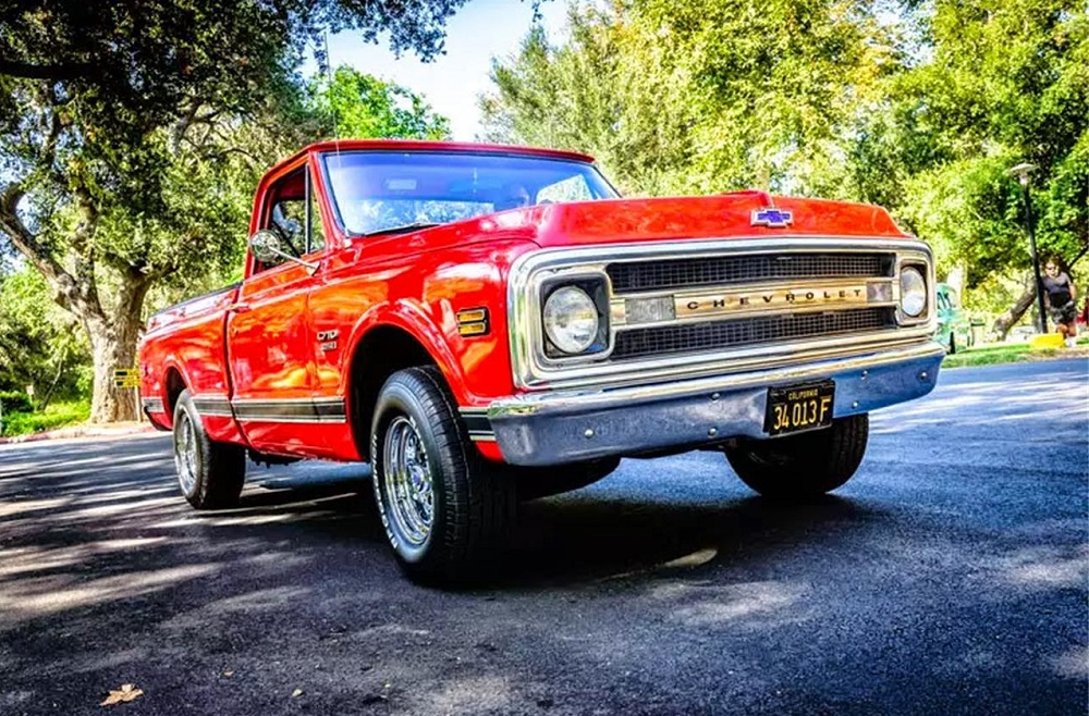 1970 Chevy C10  Poster Child For The Perfect Truck