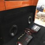 1957 Chevy 3100 custom sound system