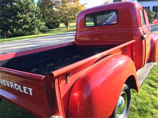 1950 Chevy 3100 Restoration
