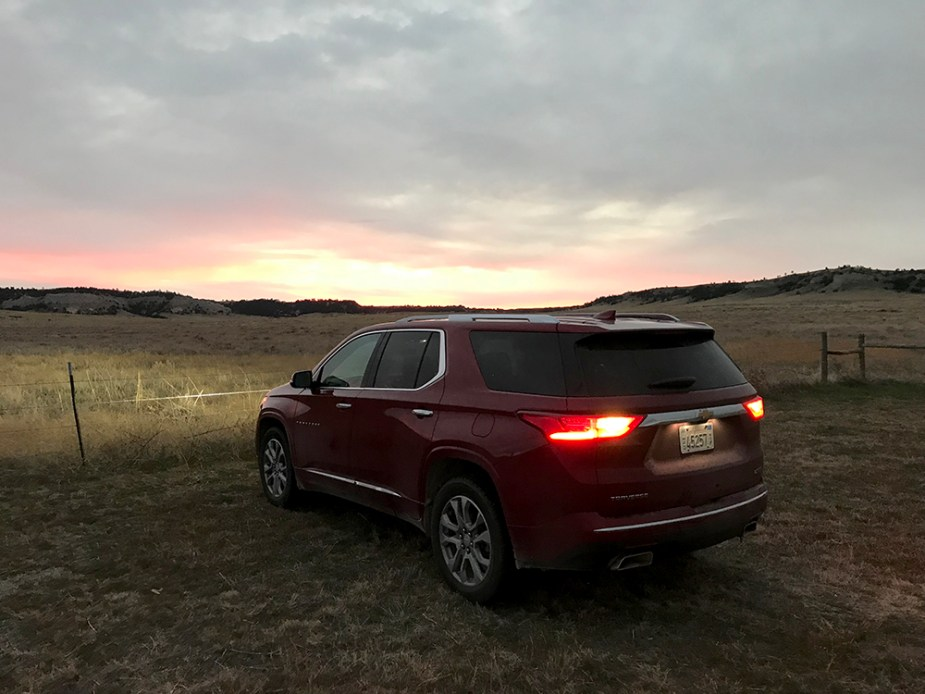 Pheasant Hunting with 2018 Chevrolet Traverse