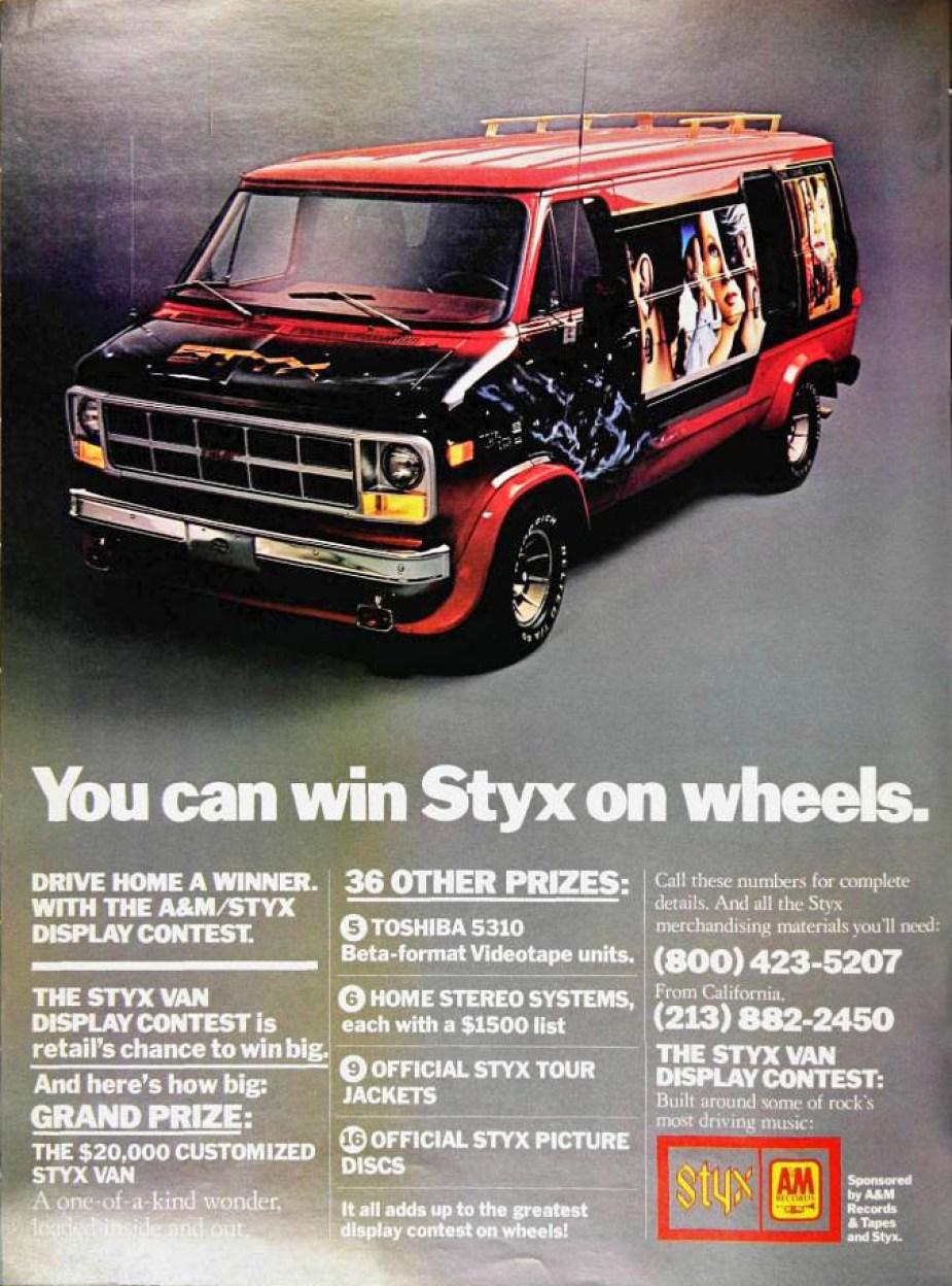 1979 Styx Van
