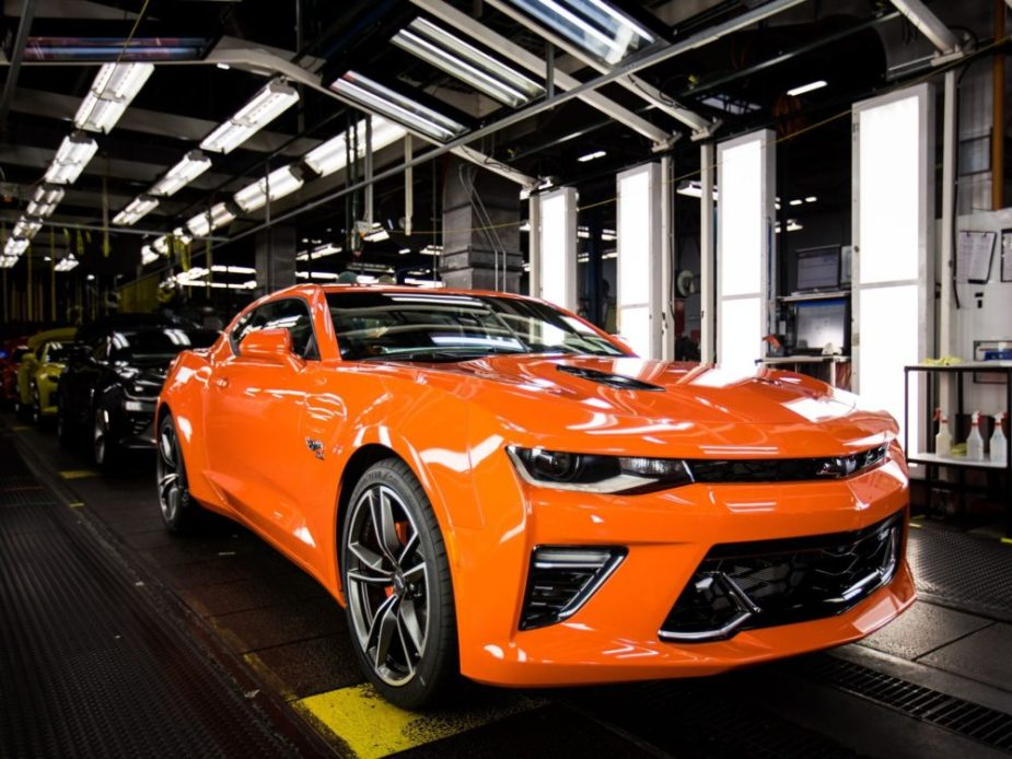 Chevrolet Rolls Out 50th Anniversary Camaro Hot Wheels ...