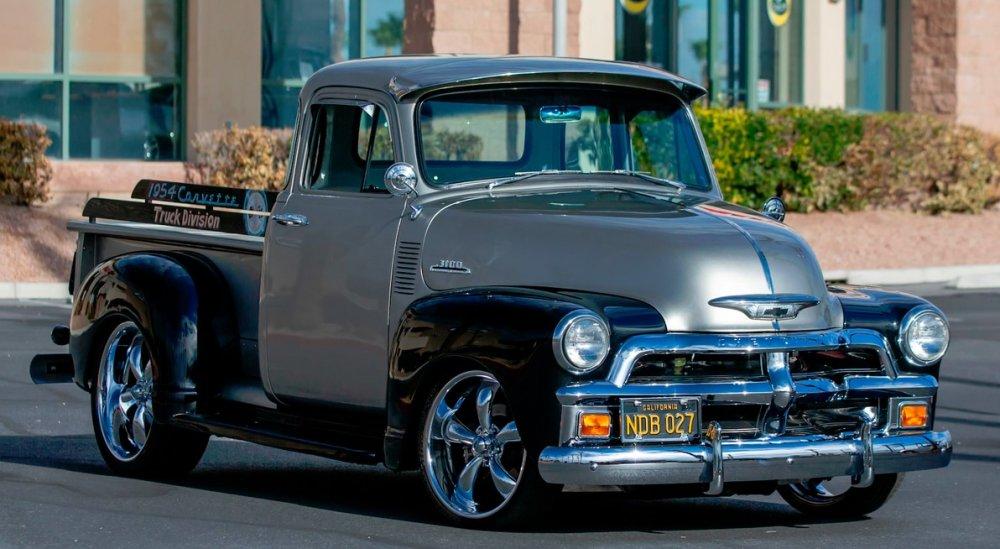 1954 Chevrolet 3100 Pickup Restored with Corvette Inspiration