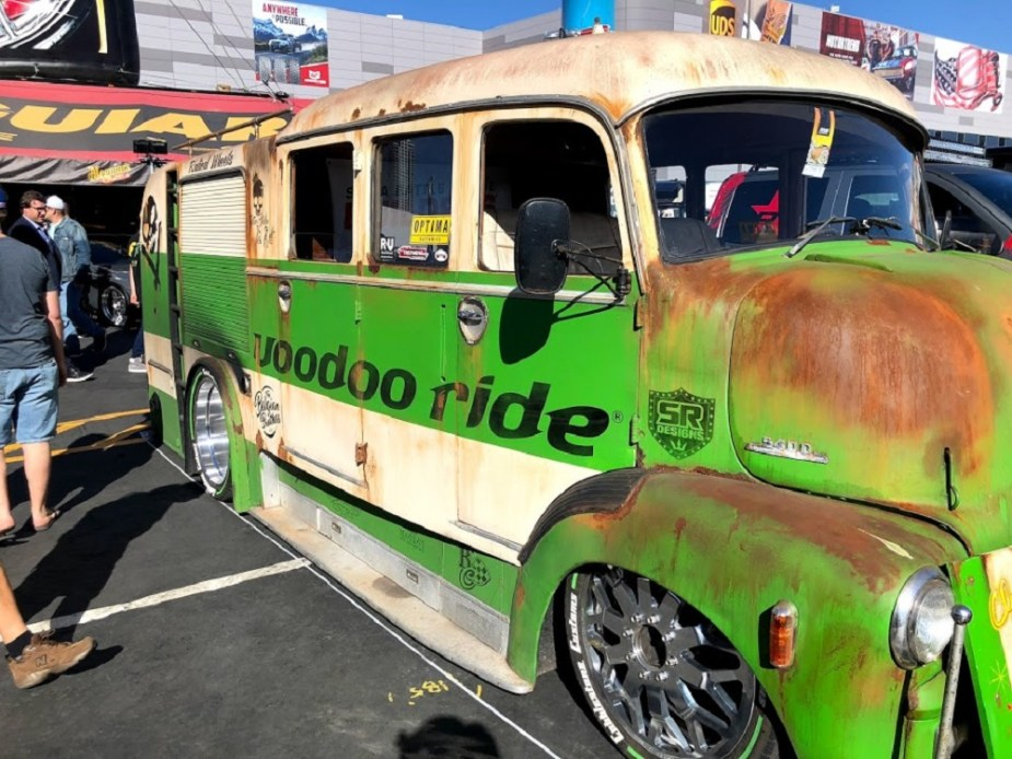 Voodoo Ride 1955 Chevy Van SEMA