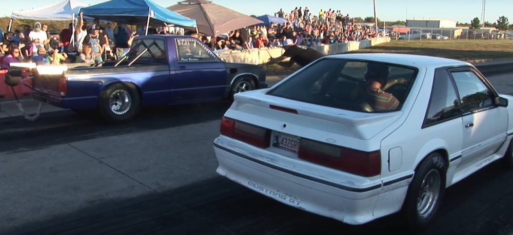 Chevy S10 Wheels-Up Start Leads to a Thrilling Loss