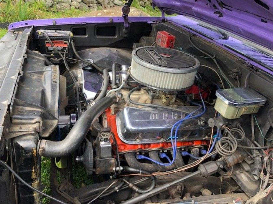 1984 Chevrolet C10 Engine Driver's Side