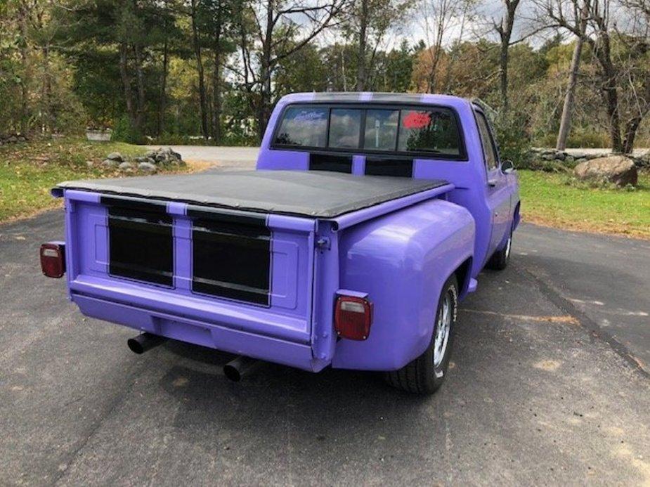 1984 Chevrolet C10 Big Block Rear