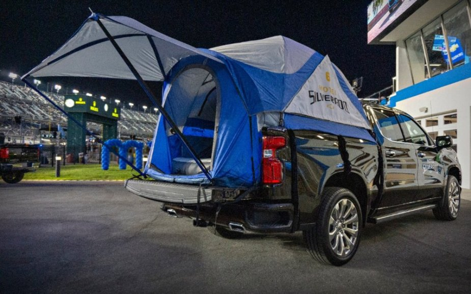 2019 Silverado Camp Truck Rear