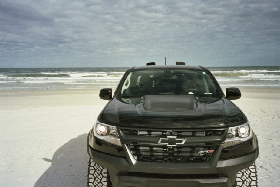 Second-Gen Chevrolet Colorado ZR2 on the Beach
