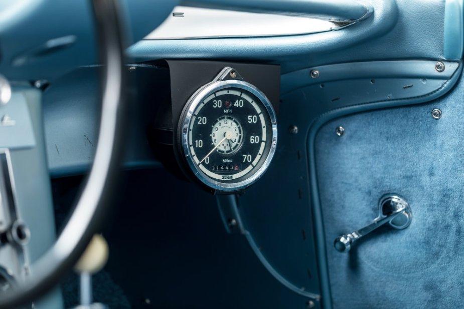 Cunningham Corvette #2 Tachometer