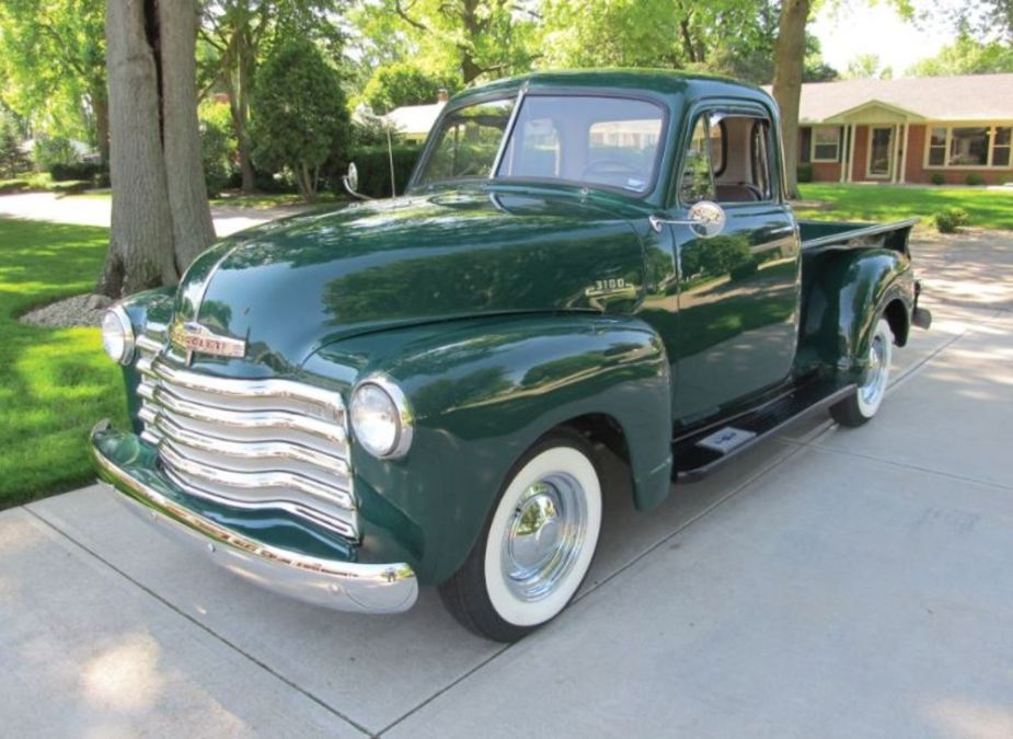 Classic 1953 Chevy Pickup is Distilled Americana