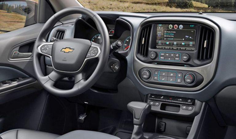 2019 Chevy Colorado Interior