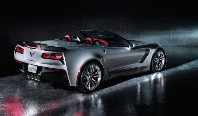 2019 Chevy Corvette Exterior