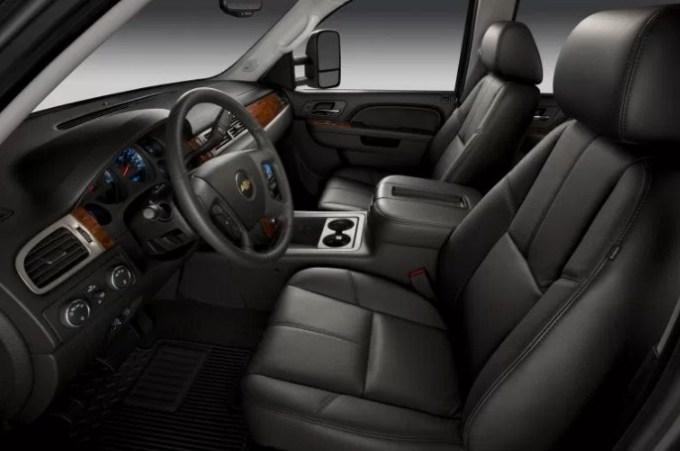 2019 Chevy Silverado 2500 Interior
