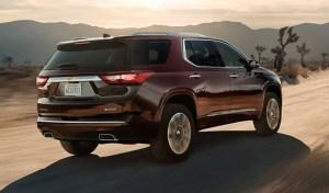 2019 Chevy Traverse Exterior
