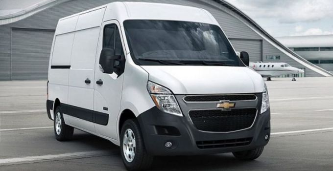 2019 Chevy Express Exterior