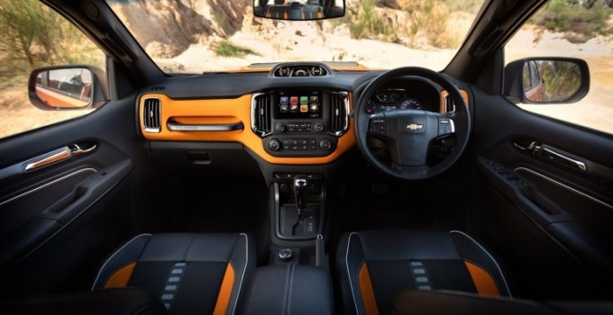 2021 Chevy Colorado Interior
