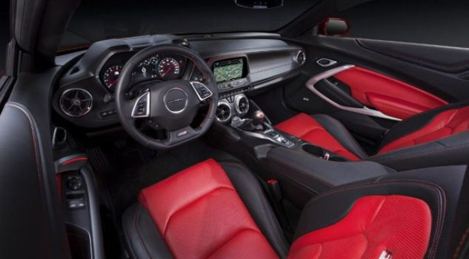 2021 Chevy Camaro Interior