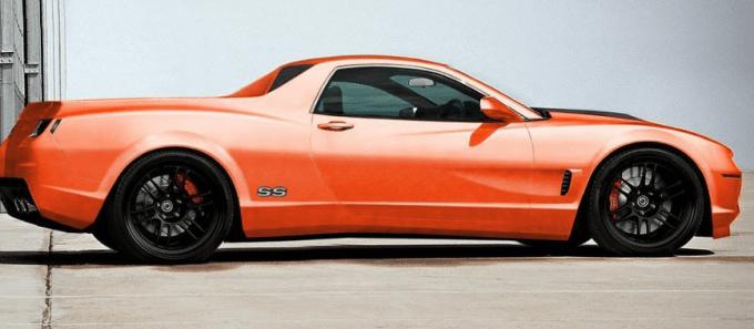 2020 Chevrolet El Camino Exterior