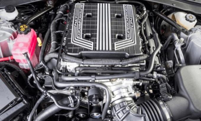 2019 Chevrolet Corvette Coupe Engine