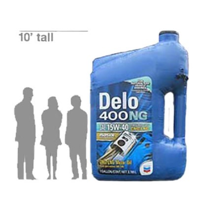 10' Inflatable Delo 400 NG Gallon