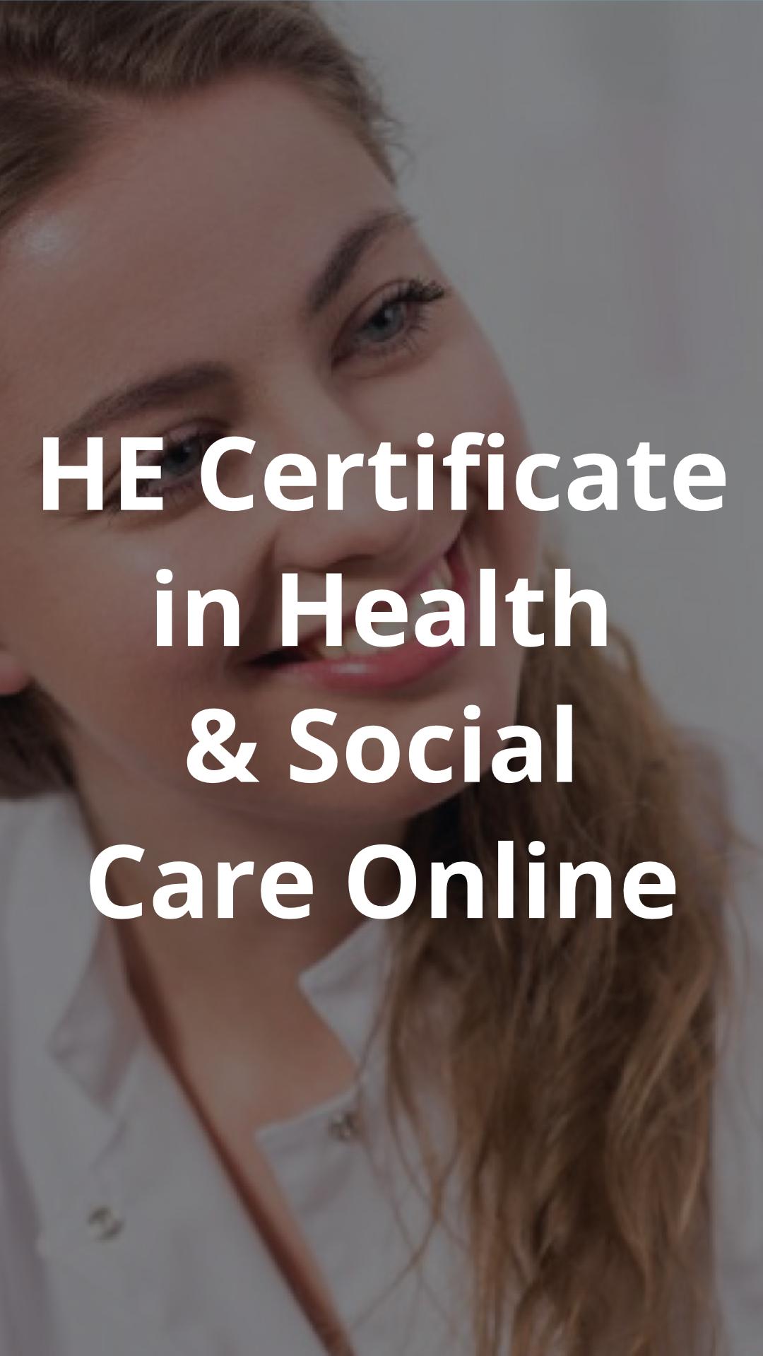 social care certificate