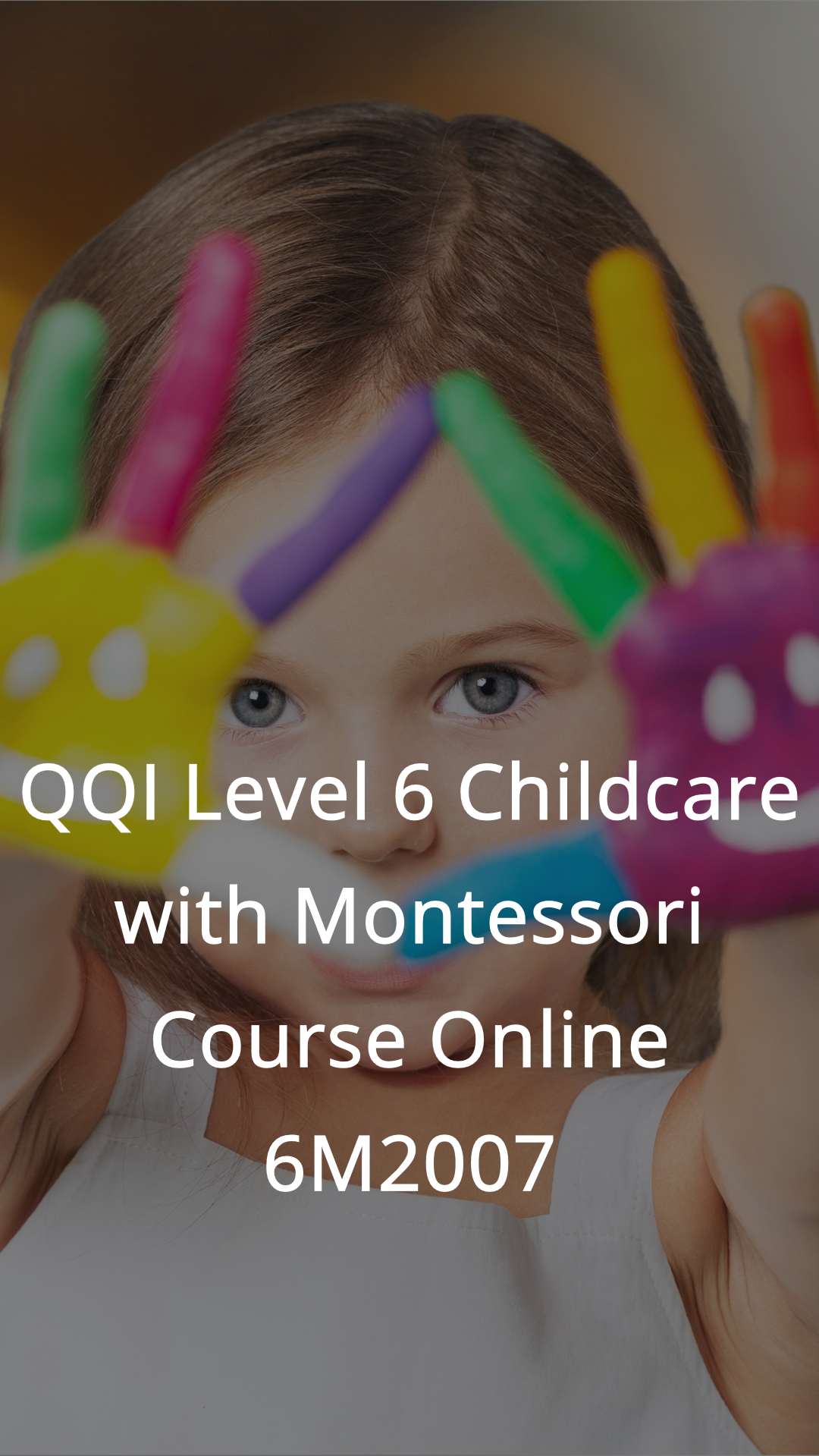 early childcare and education course