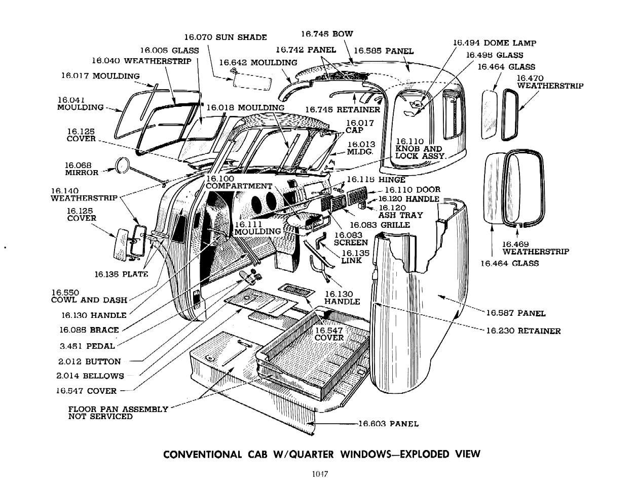 50 Chevy Truck Interior Windshield Trim Needed
