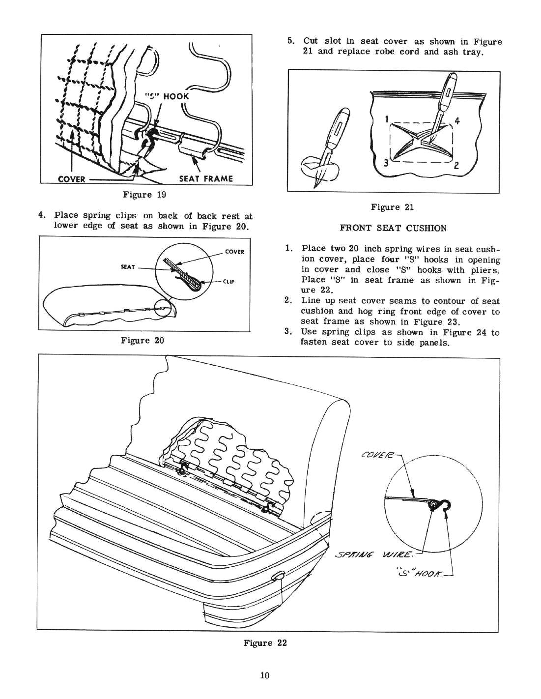 1951 Chevy Accessories Installation Manual