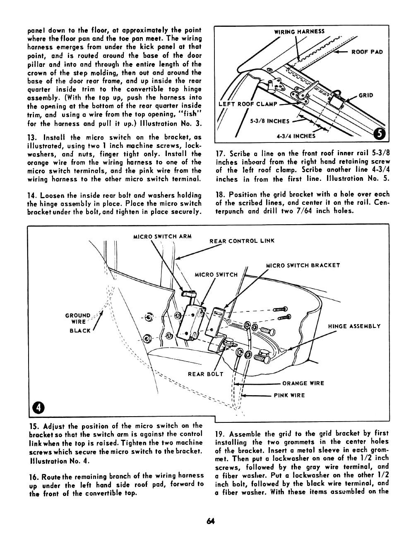 1955 Chevrolet Passenger Car Accessories Installation