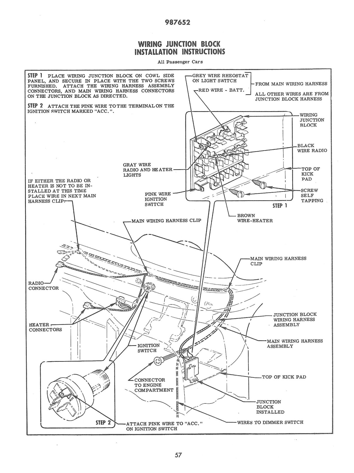 1957 chevrolet truck wiring diagram 5 1 volleyball chevy lights nissan vg30de engine diagrams