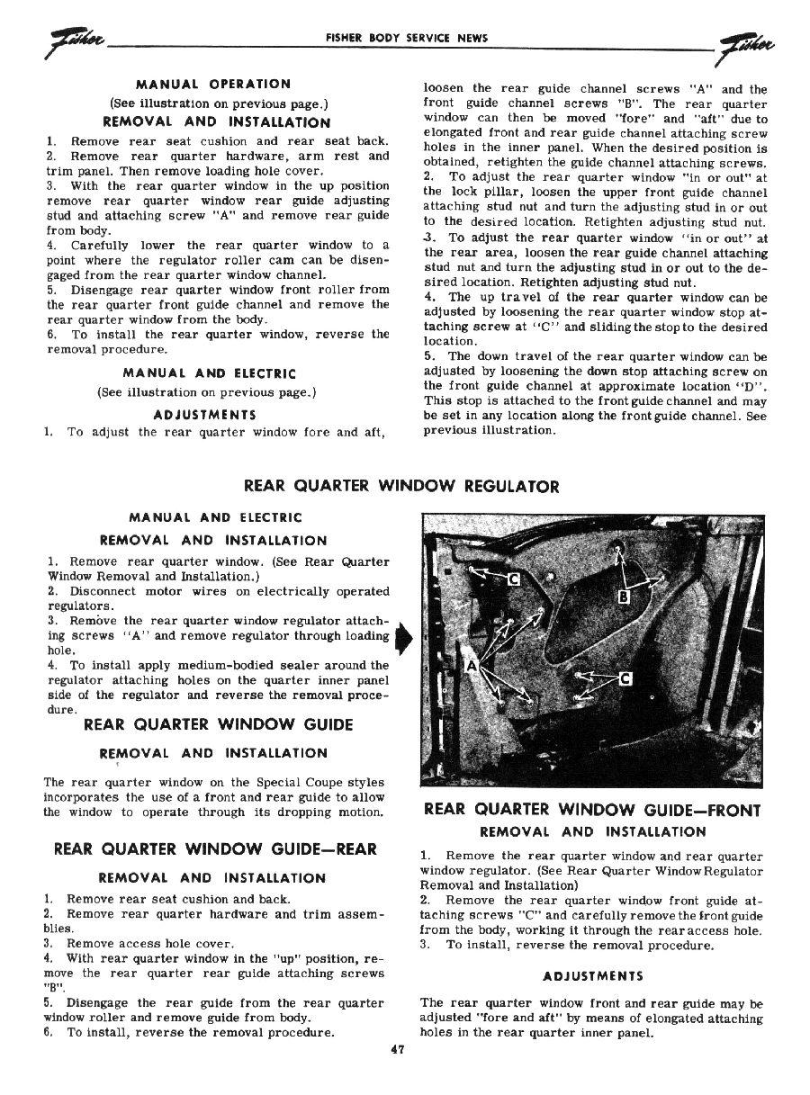1955 Chevrolet Service News