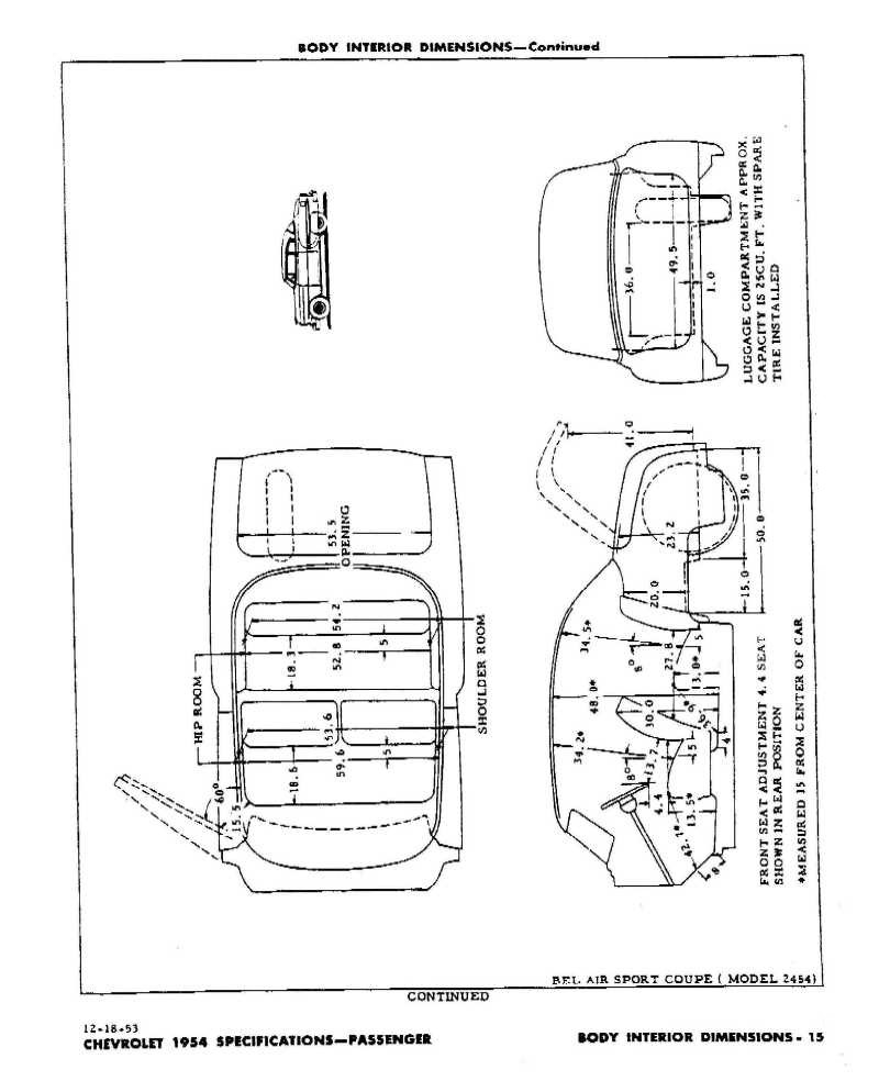 1954 Chevrolet Passenger Car