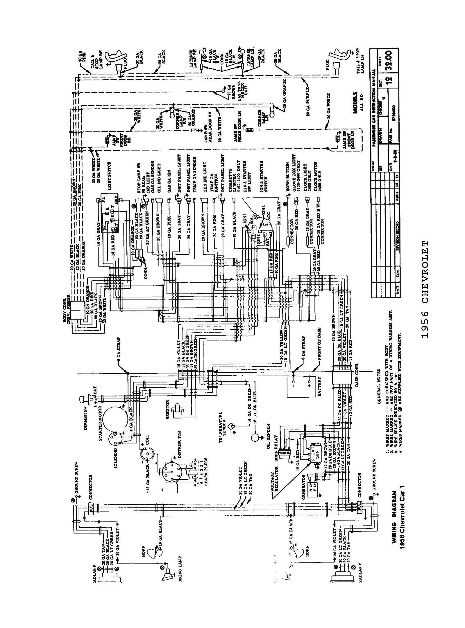 [WRG-6251] 1965 Chevrolet Pickup Wiring Diagram