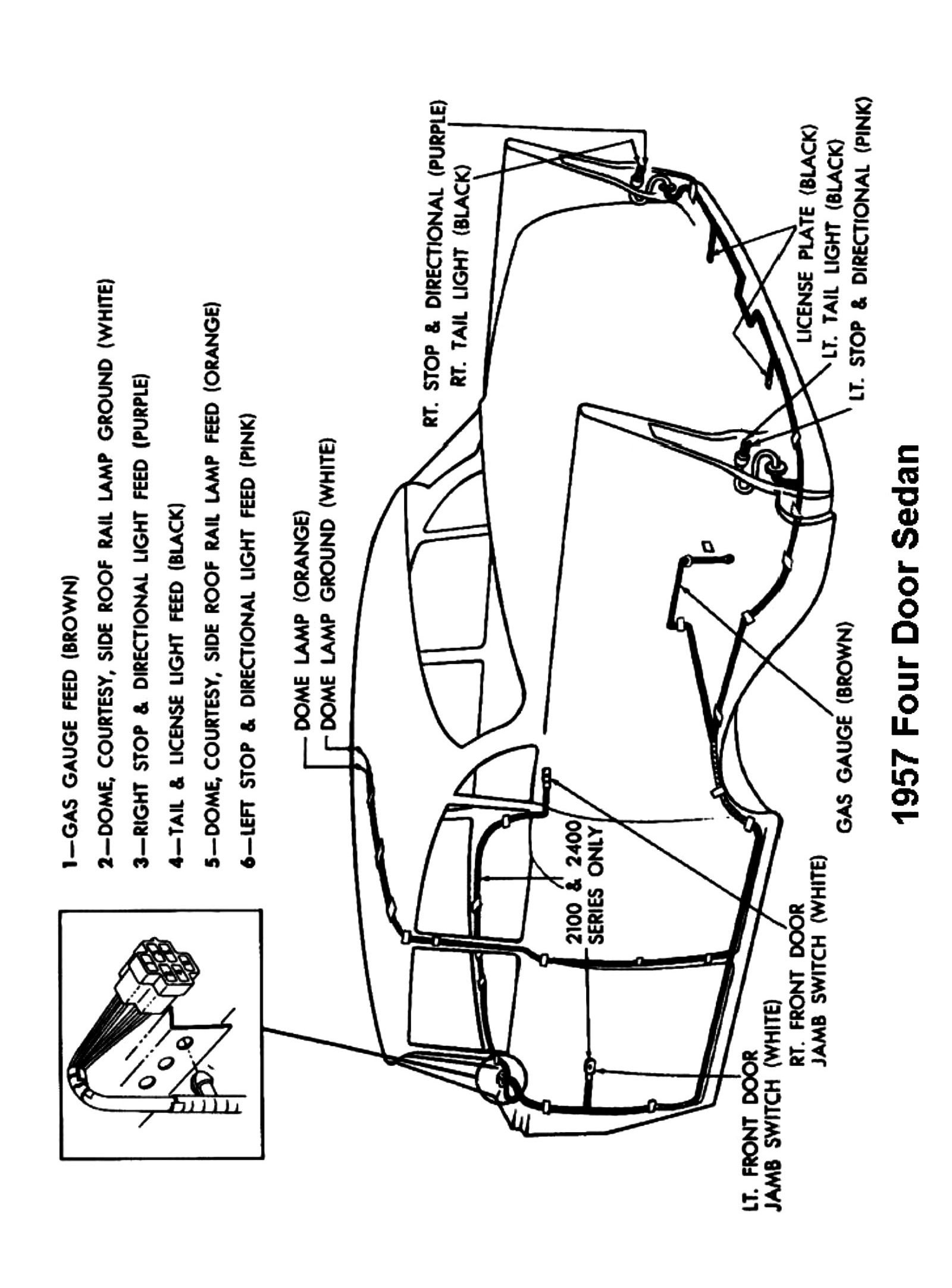 wiring harness for 57 chevy