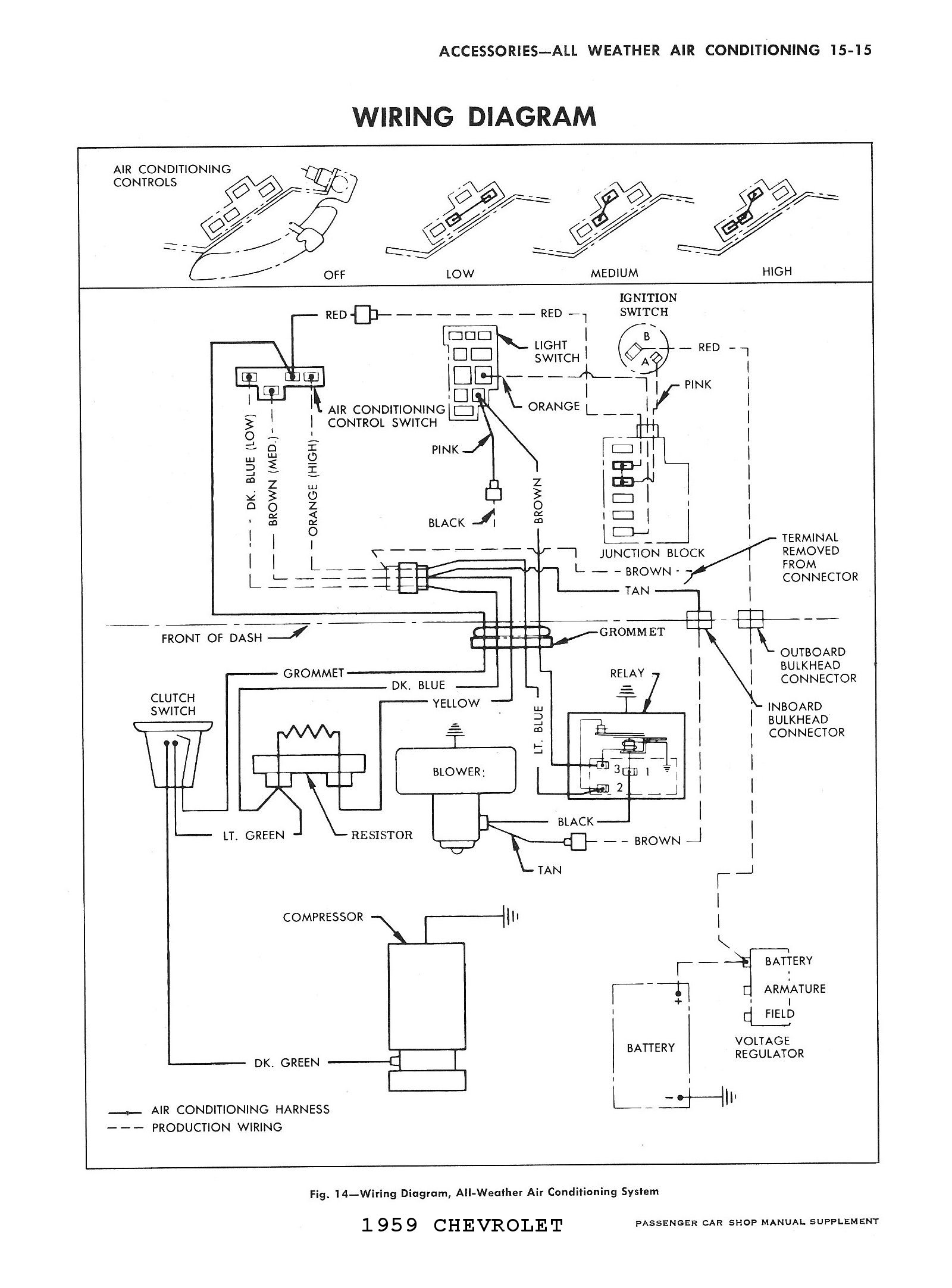 1959 Corvette Heater Diagram, 1959, Free Engine Image For