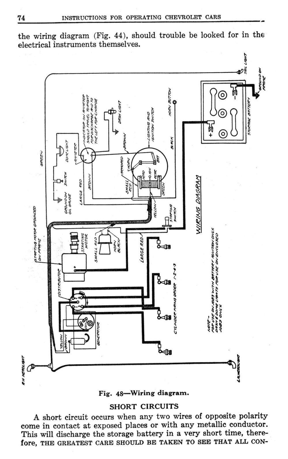 medium resolution of  1923 general wiring 1923 wiring