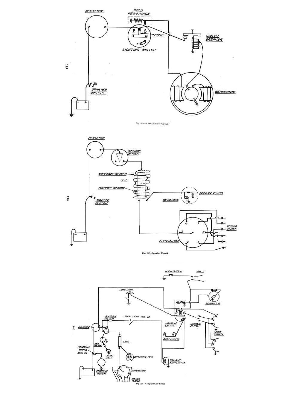 medium resolution of generator and regulator circuit diagram for the 1947 chevrolet chevy wiring diagrams generator and regulator circuit