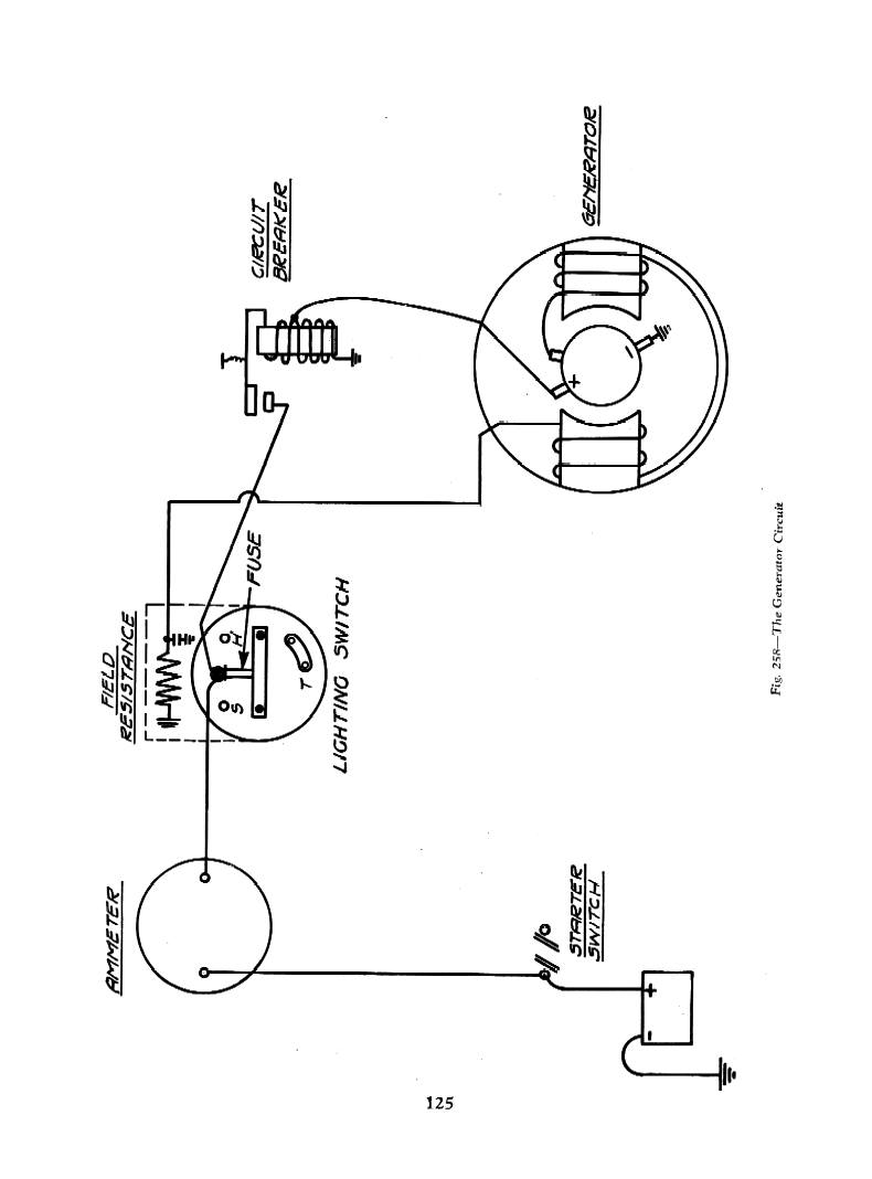 starter switch wiring diagram apache quad bike chevy diagrams 1934 general generator circuit