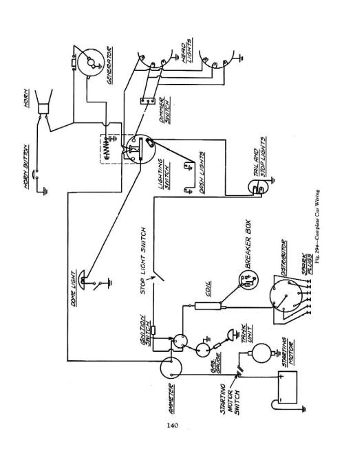 small resolution of 1934 switches 1934 ignition circuit 1934 car wiring