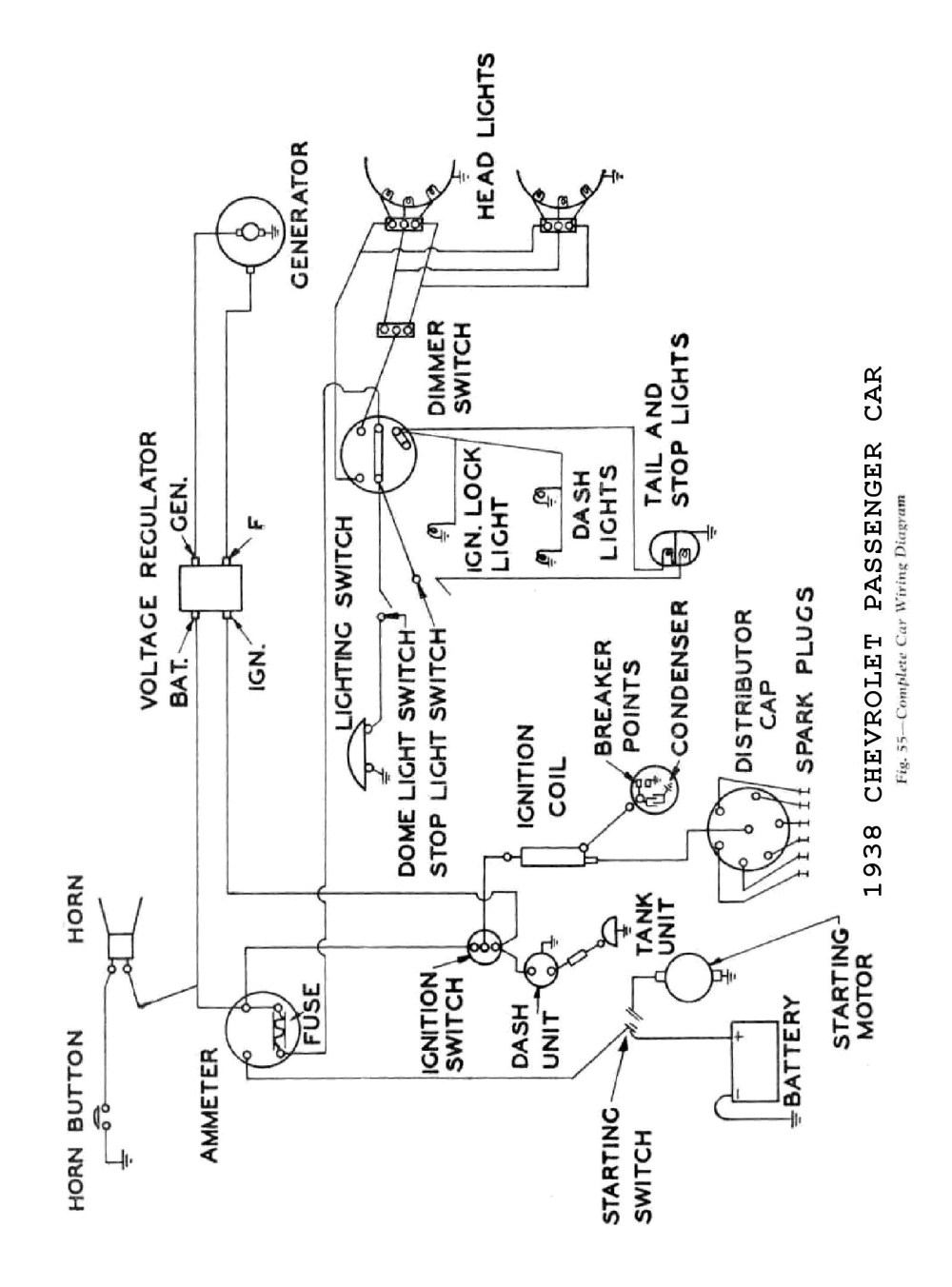 medium resolution of ignition circuit diagram for the 1946 55 plymouth all models charging circuit diagram for the 1946