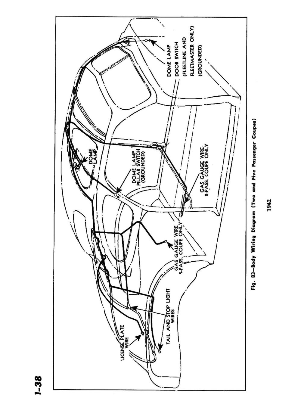 medium resolution of 1942 body wiring diagram