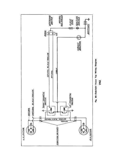 small resolution of 1942 truck wiring 1942 cabriolet power top wiring