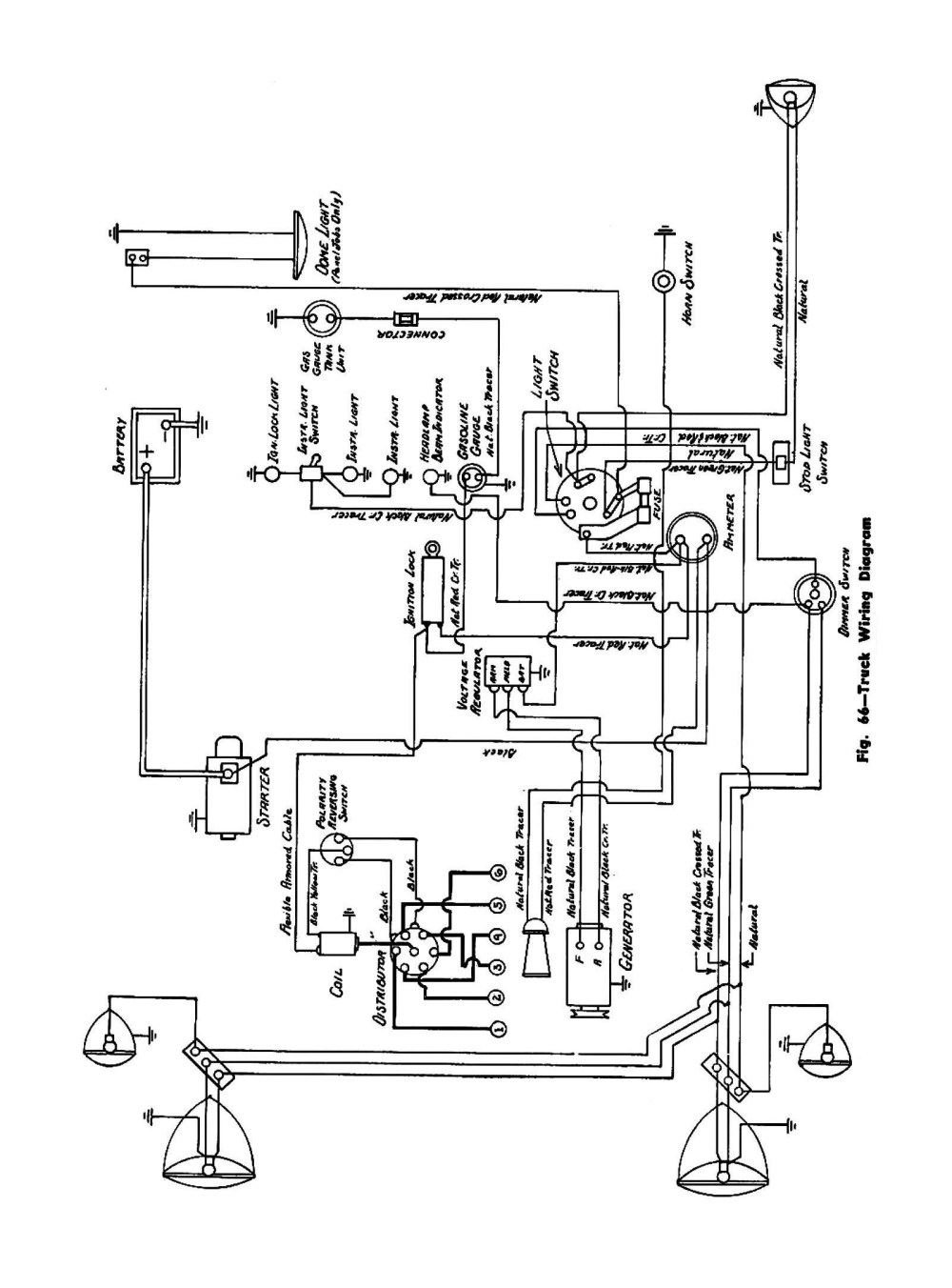 medium resolution of  1945 truck wiring