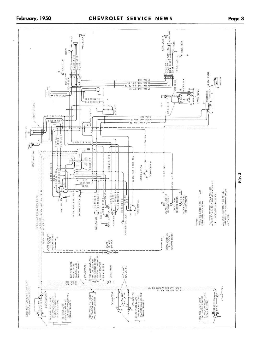 medium resolution of 1950 truck wiring