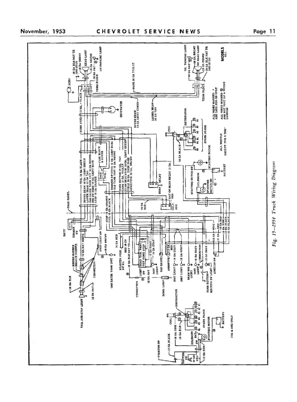 medium resolution of  1954 truck wiring 3