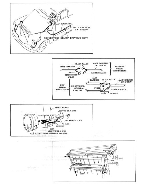 small resolution of 1954 chevy 3100 truck wiring harness diagram wiring diagram technic 54 chevy truck wiring harness