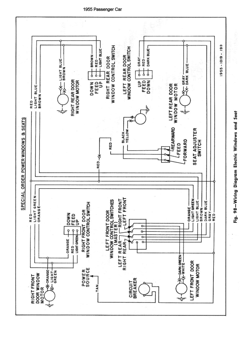 medium resolution of chevy wiring diagrams power window controller early gm power window wiring